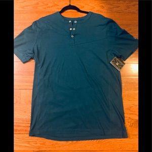 Spyder Men's Bolt Short Sleeve Henley Shirt